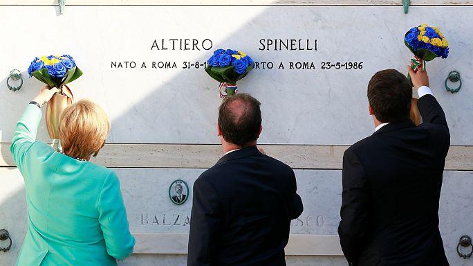 Német-francia-olasz csúcstalálkozót tartanak Európa jövőjéről