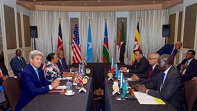 John Kerry appelle le déploiement des troupes supplémentaires au Soudan du Sud