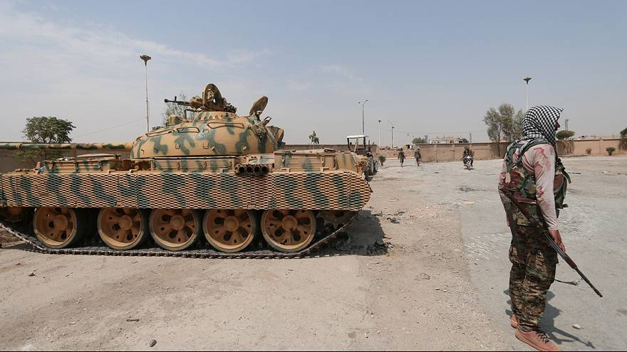 Offensive gegen IS-Miliz in Dscharablus