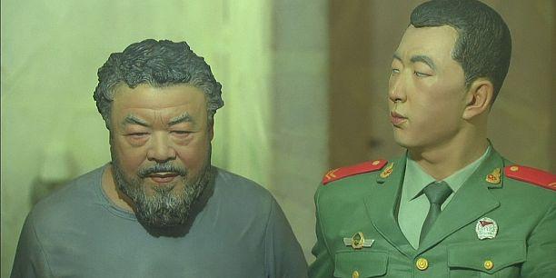 En Espagne, la détention de l'artiste Ai Weiwei en six boîtes