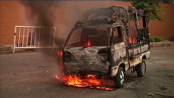 حمله به ساختمان تلویزیون در شهر کراچی