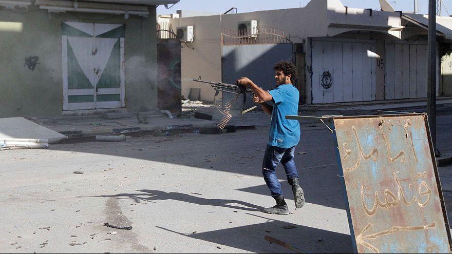 Libya'da hükumet güçleri Sirte'yi IŞİD'den almak üzere