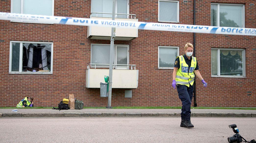 انفجار یک نارنجک در سوئد جان یک کودک هشت ساله را گرفت