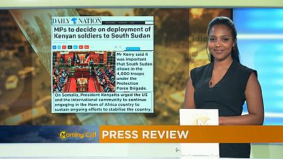 Press Review of August 23, 2016 [The Morning Call]