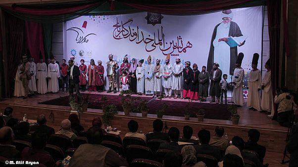 گزارش تصویری؛ برگزاری همایش بین المللی خداوندگار بلخ