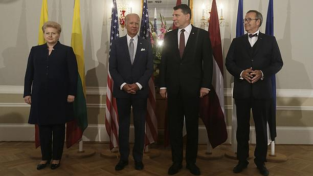Biden reaffirms US commitment to NATO's Article 5 in Baltics
