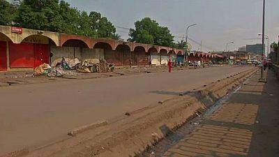 RDC : l'opposition a appelé à une grève générale mardi