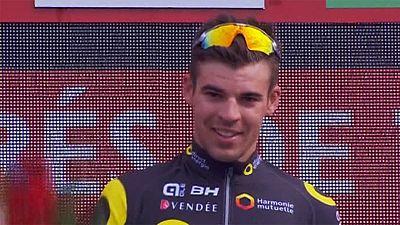 Tour d'Espagne : Lilian Calmejane remporte la quatrième étape