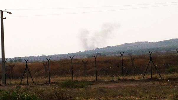 آغاز تخلیه شهر کارکامیش ترکیه پس از اصابت موشکهای داعش