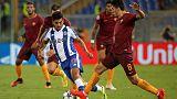 بورتو يتغلب على روما ويتأهل لدور المجموعات في دوري ابطال اوروبا