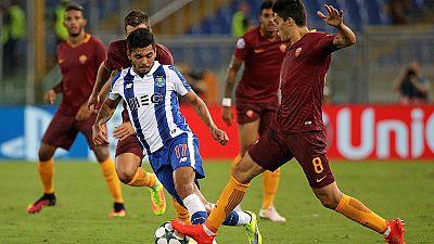 Ligue des champions : Monaco et Porto qualifiés, la Roma éliminée