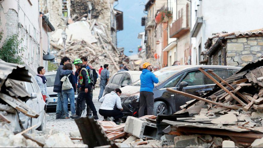 Erős földrengés Olaszországban - sok halott