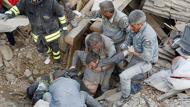Dozens dead and many more missing after strong earthquake hits central Italy