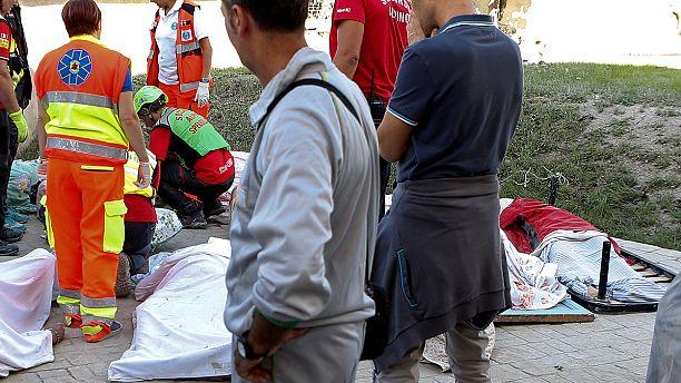 Euronews berichtet LIVE vom Erdbeben in Italien