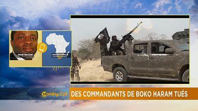 Des commandants de boko haram tués [The Morning Call]