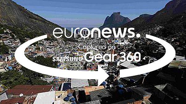 Vídeo 360°: Descubra a favela mais antiga do Rio de Janeiro de teleférico