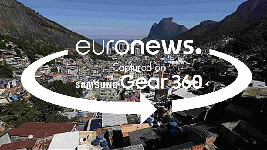 فيديو °360: تعرف على الأحياء الفقيرة في ريو من داخل تلفريك