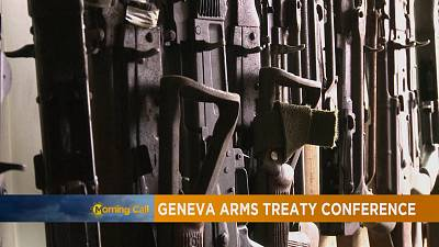Arms trade treaty conference in Geneva [The Morning Call]