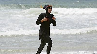 No 'stress' wearing burkinis on Moroccan beaches