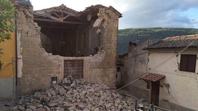 الزلازل مأساة إيطاليا التاريخية
