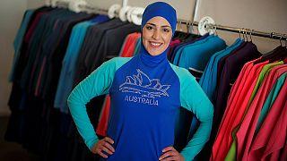 La australiana que ideó el burkini recibe más encargos que nunca