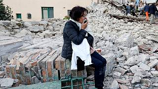 İtalyanlar deprem anını anlattı