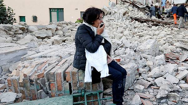 'They are left under the rubble': survivors in Italy describe earthquake terror