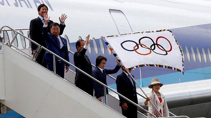 Olimpia - A zászló már Tokióban van