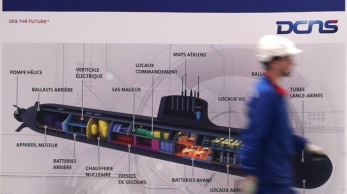 French submarine builder DCNS scuppered by leaks