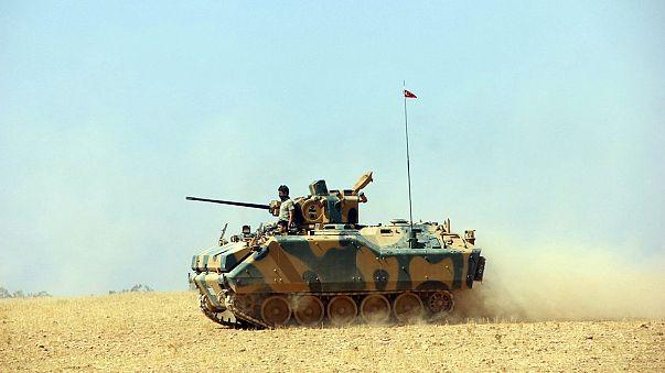 Újabb szíriai városból szorult ki az Iszlám Állam – török katonai közreműködéssel