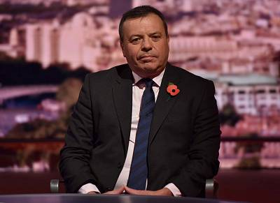 Arron Banks has been questioned about his money.