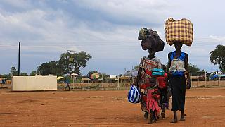 UNMISS relocates displaced families