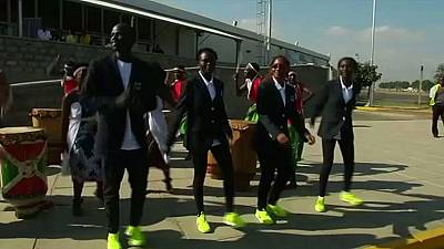 Members of Olympic Refugees team return to Nairobi from Rio