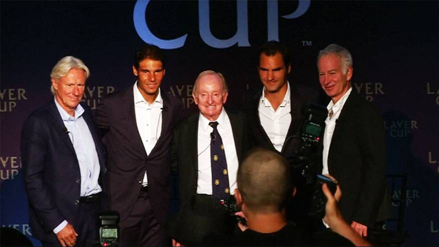 Borg and McEnroe renew rivalry in Laver Cup
