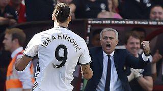 Ibrahimovic chasing 91-year-old goal scoring record at Man United