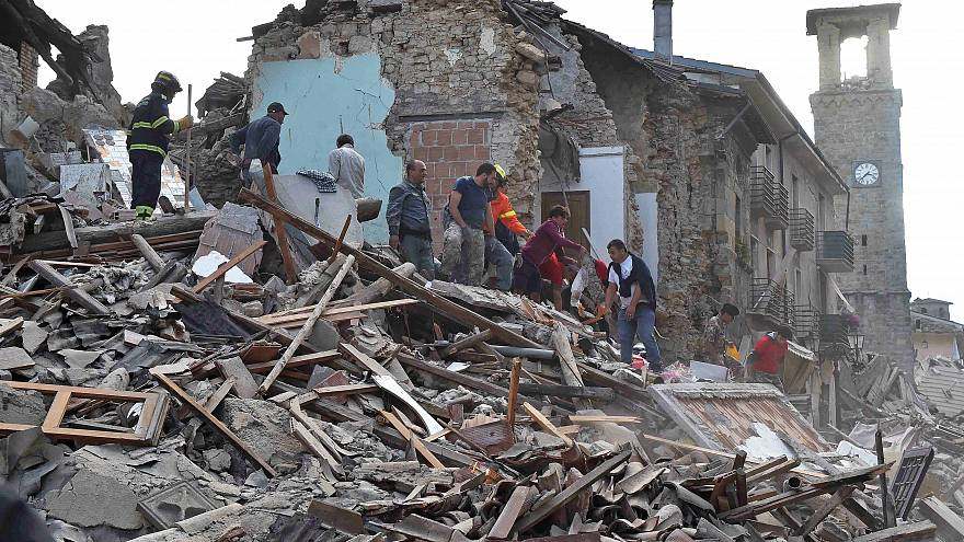 Amatrice dall'alto: il dopo terremoto filmato da un drone