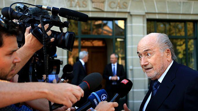 Fellebbez a FIFA korábbi elnöke, Blatter