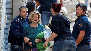 Italy quake survivors in pain and shock