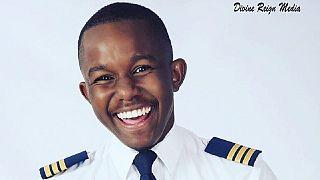 Zambie: Kalenga Kamwendo, pilote de ligne à 21 ans