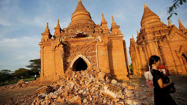 Erdbeben zerstört mehr als 200 Tempel in Myanmar
