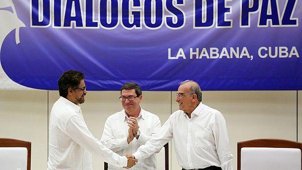 Kolombiya'da tarihi barış anlaşması imzalandı