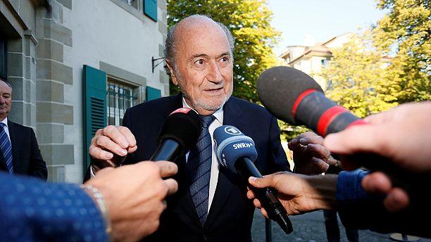 Former FIFA president Sepp Blatter attends CAS hearing
