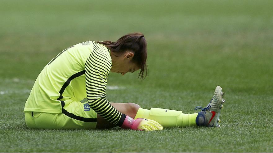 American goalkeeper Hope Solo handed six-month ban