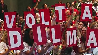 Brazil: suspended President Dilma Rousseff's impeachment trial opens