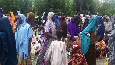 Displaced people in Nigeria's Borno State protest over neglect