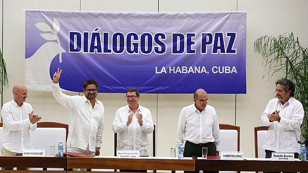 Historisches Friedensabkommen zwischen Regierung und Farc-Rebellen in Kolumbien