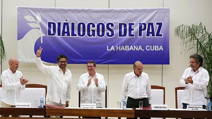 Colombia government urges referendum backing for FARC peace deal