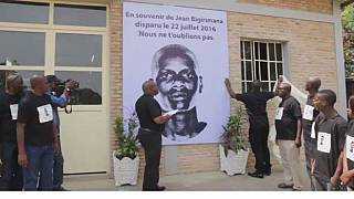 Burundian journalists pay tribute to missing colleague