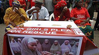 Nigeria: Protesters march to presidential villa in Abuja over Chibok girls