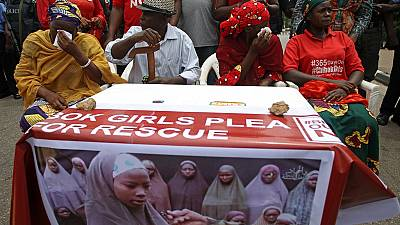 Nigeria: Protesters march to presidential villa in Abuja over Chibok girls